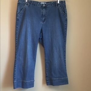 Coldwater Creek Jeans - Coldwater Creek High Waist Cropped Strt Leg Jeans